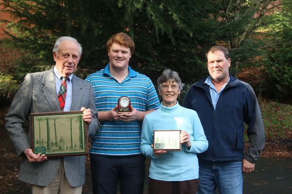 Rankin Family Oregon's 2016 Outstanding Tree Farmer of the Year